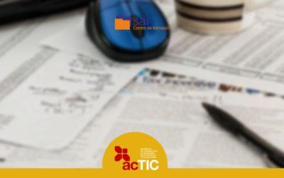 Curs acTIC avançat C4 – Tractament de la informació escrita