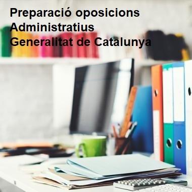 Oposicions Administratius Generalitat de Catalunya